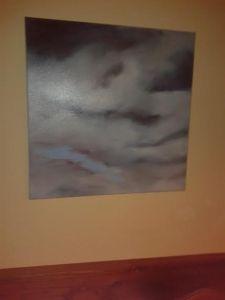 Seie de nubes 2. 60 x 60 400€